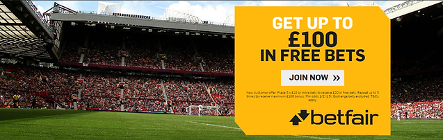 betfair online sign up offer free £100