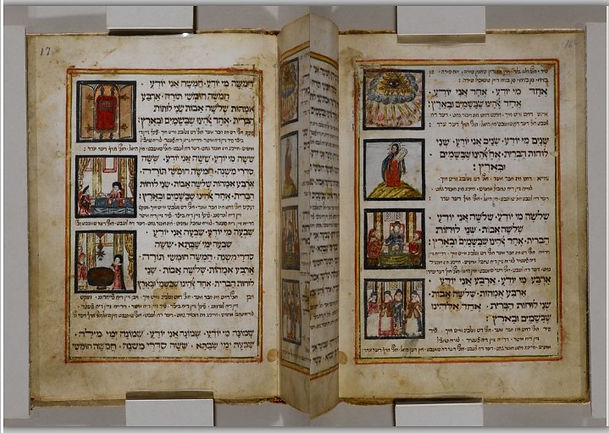 Haggadah 1732 Echad mi yodea Yiddish.jpg