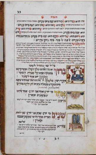 Haggadah 1766 Echad mi yodea Yiddish.jpg