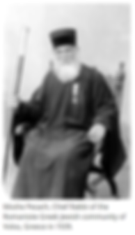Greek chief rabbi 1939 https://breakingm