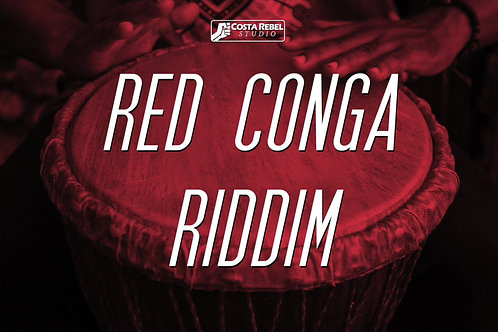 "Dancehall Riddim ""Red Conga"" (Non Exclusive)"