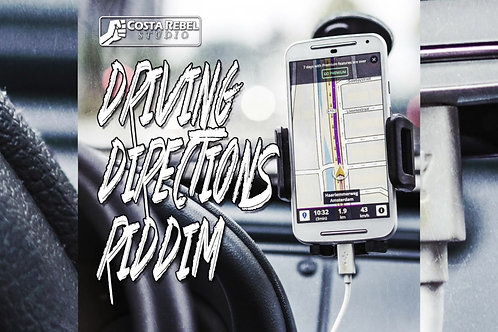 "Reggae Riddim ""Driving Directions"" (Non Exclusive)"