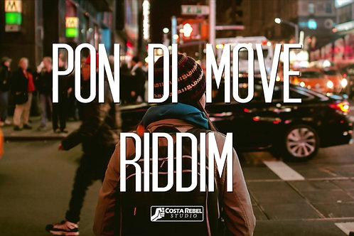 """Dubstep/Reggae Beat """"Pon di Move"""" (Non-Exclusive)"""