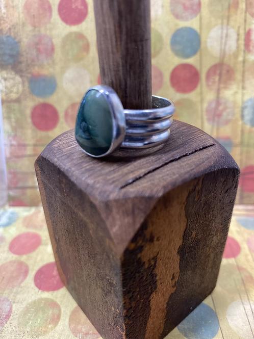 Imperial Jasper Ring (Size: 8.5) - GN