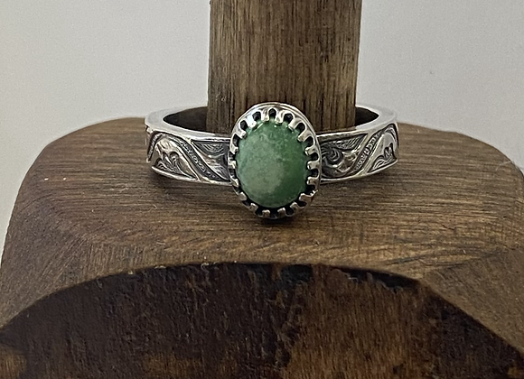 Morning Star Turquoise Ring