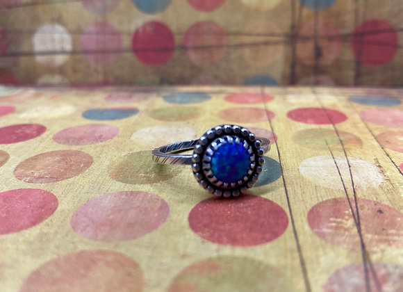 Synthetic Opal Ring (Size 8.5) - GN