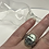 Thumbnail: Mystic Sage Turquoise Feather Ring