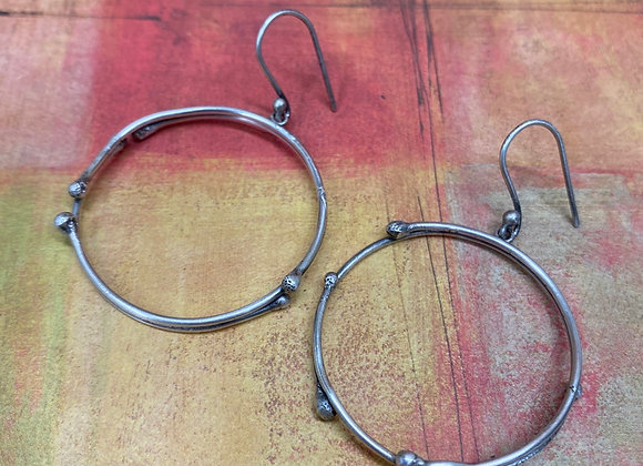 Ecletic Hoop Earrings
