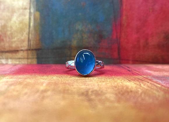 Aquamarine Ring (Size: 5)