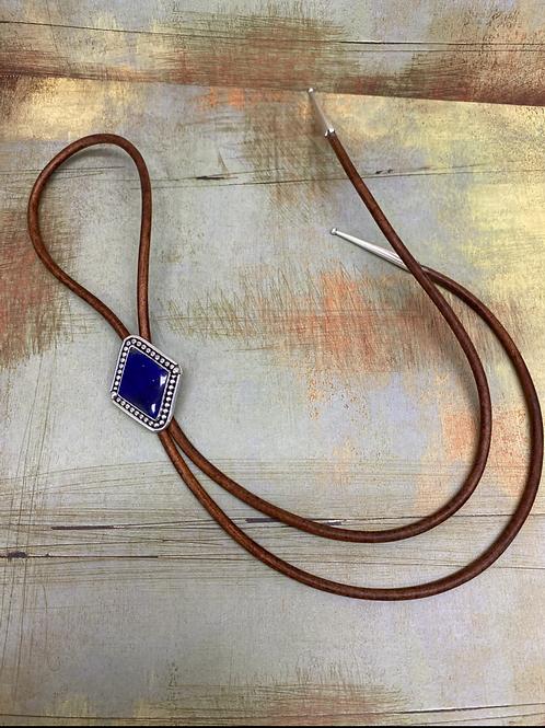 Lapis Lazuli Bolo-Tie