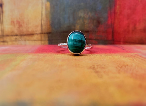 Malachite Ring (Size 7 1/2)
