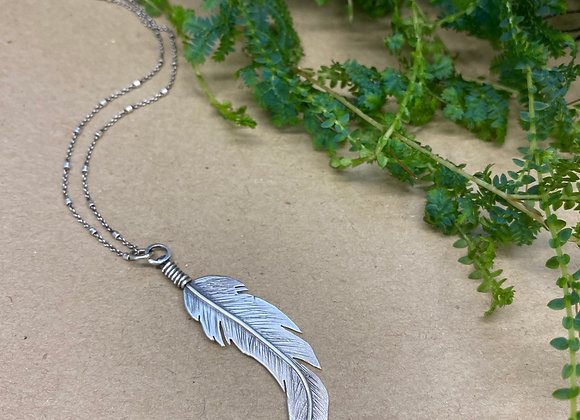 Large Feather Pendant