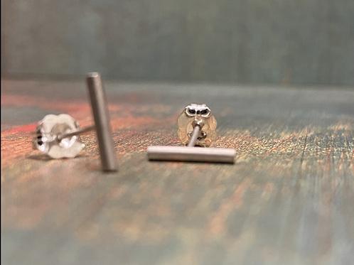 Tiny Round Bar Studs
