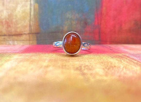 Sunstone Ring (Size 10 1/2)