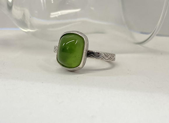 Green Glass Ring