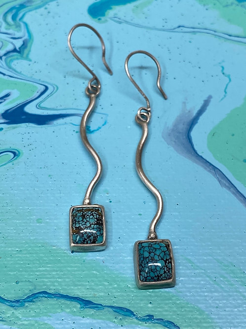 When the map turns blue earrings