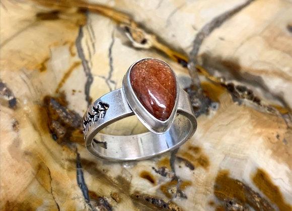 Oregon Sunstone Ring (Size: 10.5)