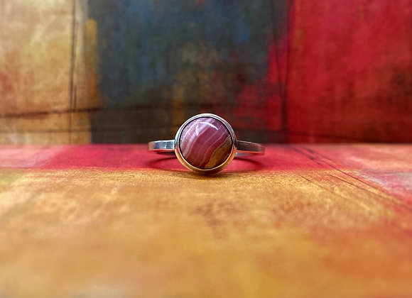 Rhodochrosite Ring (Size 9.5)