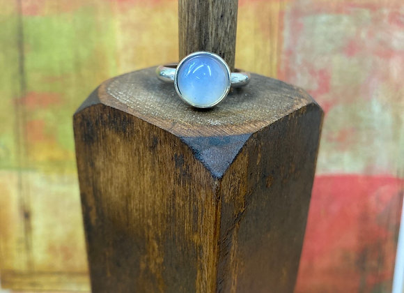 Clear Glass Ring (Size 7.5)  - GN