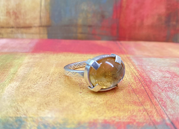 Citrine Ring (Size: 9 3/4) - GN