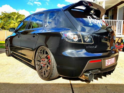 Mazda 3 Bk Mps Rear Diffuser E Wing Aero Designs Home