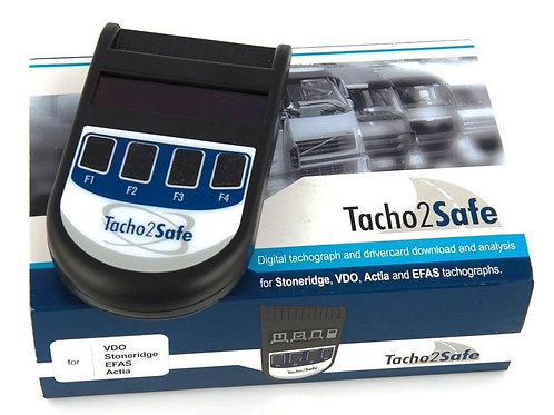 Tacho2Safe Digital Tachograph & Driver Card Download