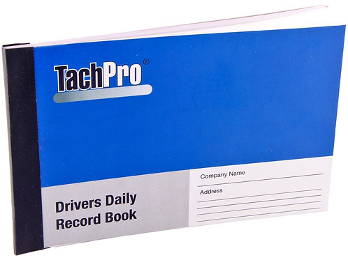 TachPro Drivers Daily Record Book