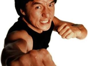 Walk like Jackie Chan