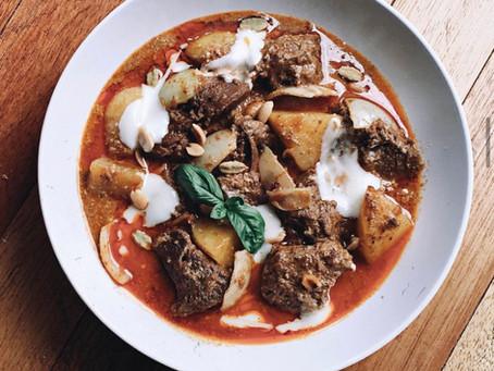 Champignon et tofu à la bourguignonne