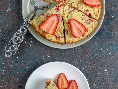 Le crumble aux fraises