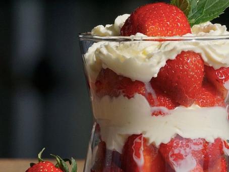 Salade à base de fraises