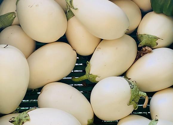 Aubergines blanches