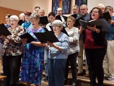 GCCoB church choir (Photo by Madalyn Met