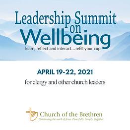 2021-04-19 Leadership Summit on Wellbein