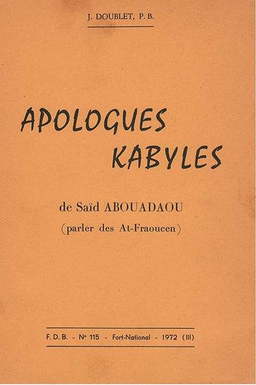 Apologue Kabyles: parler des At-Fraoucen
