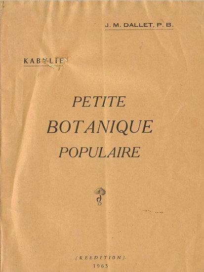 Petite botanique populaire