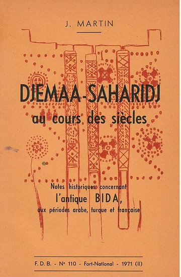 Djemma-Saharidj au cours des siècles