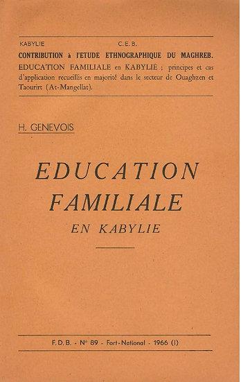 Éducation familiale en Kabylie