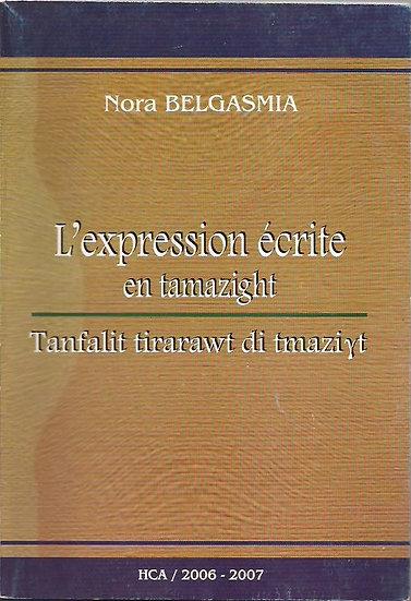 L'expression écrite en tamazight