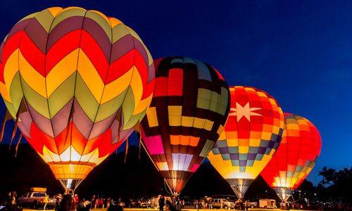 Hot Air Balloon Glow