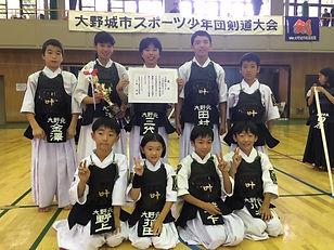 20190707学年別 団体準優勝.JPG