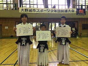 20120707学年別 個人 準優勝.JPG