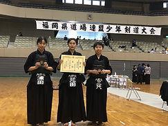 20201205道場連盟団体女子3位.jpg