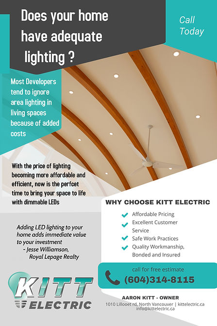 Copy of Electrical Contractor Flyer Post