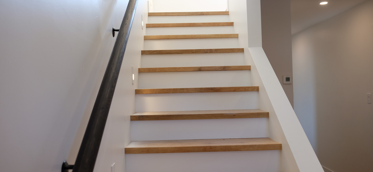 float home - stair lighting