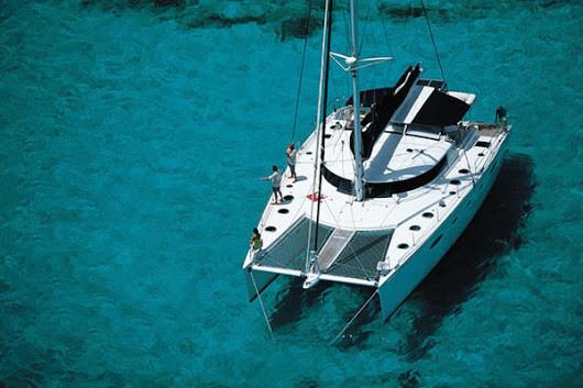 Catamaran on San Blas Islands