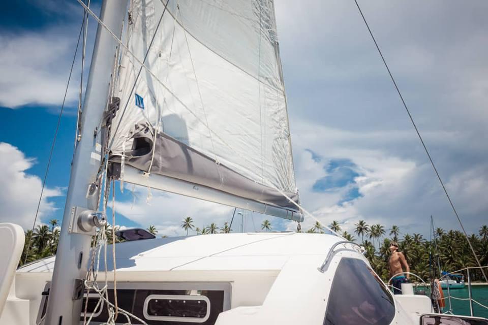 Nautitech 40 sail