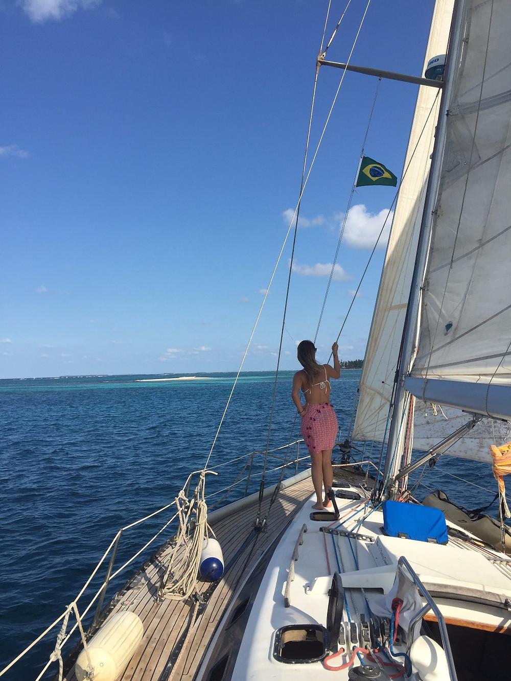 Sailing around San Blas Islands