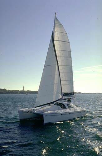 Privilege 37 sailing