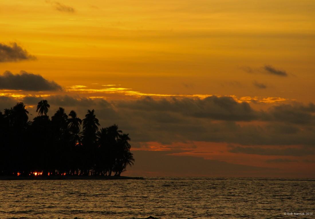 San Blas Sunset